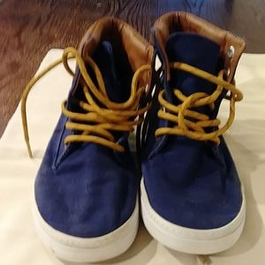 CRAZY 8 YOUTH BOY'S SZ 12 CANVAS HIGH TOP SNEAKERS